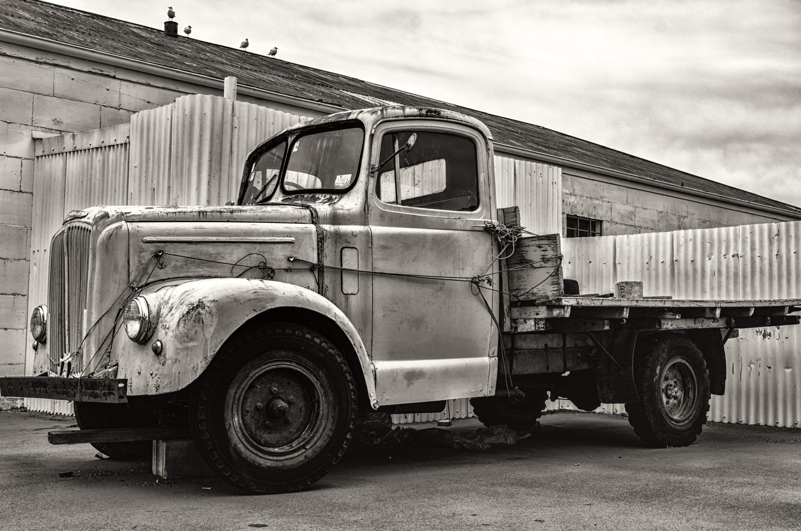Vintage LKW